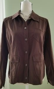Chicos button-up light jacket